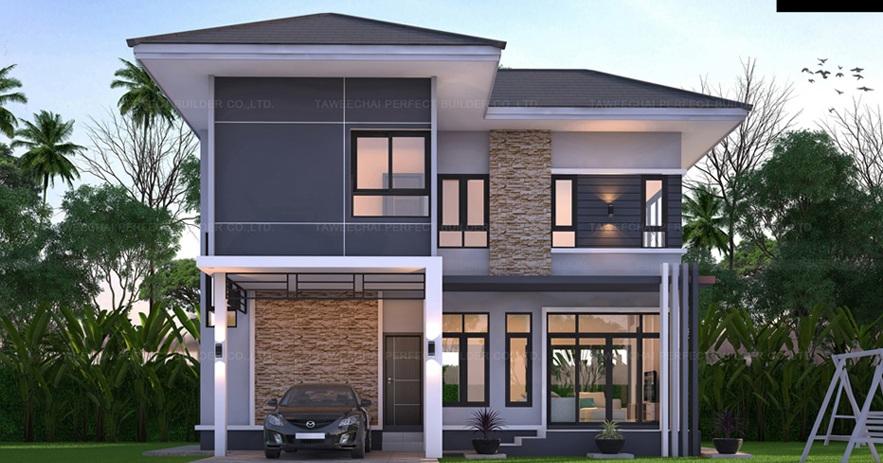 exterior design of 2 storey house Home Design 32+ Exterior Design Of 2 Storey House Pictures