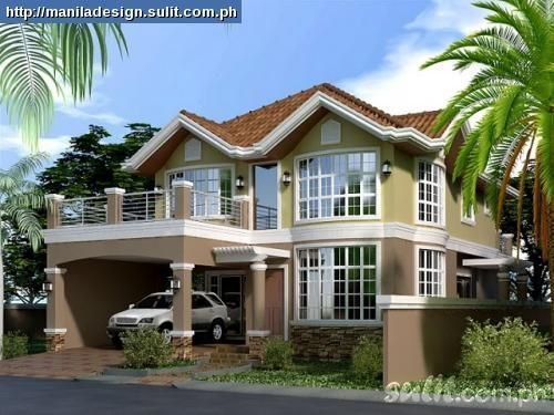 2 story house plans with balcony Balcony 37+ 2 Story House Plans With Balcony Pictures