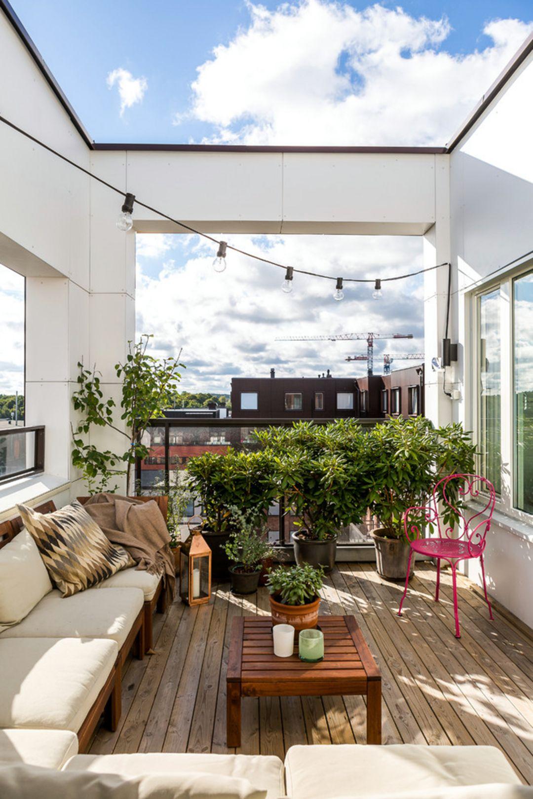 10+ Inspiring Minimalist Home Balcony Design Ideas - moetoe