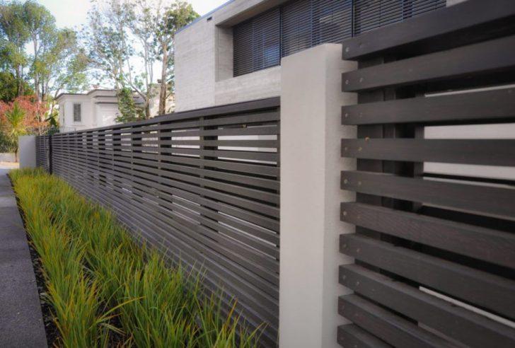 modern house fence design Home Design Modern House Fence Design