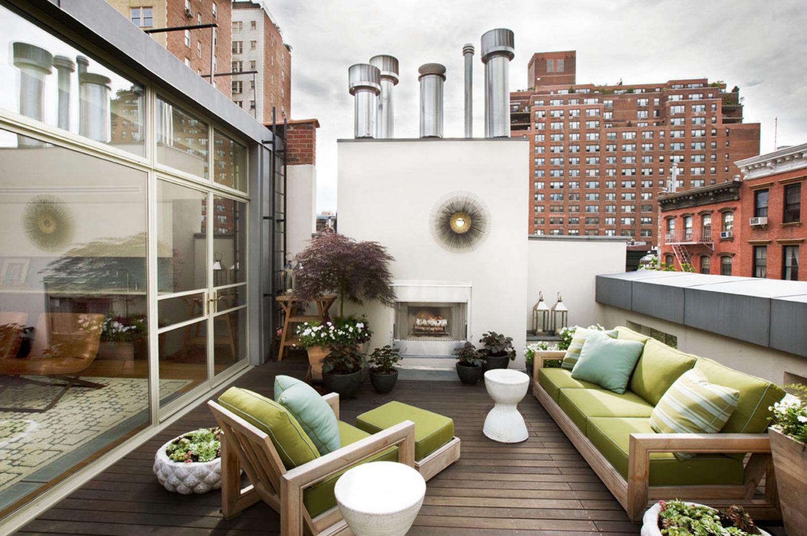 14 Great Inspirations of Balcony Modern Interior Design ...