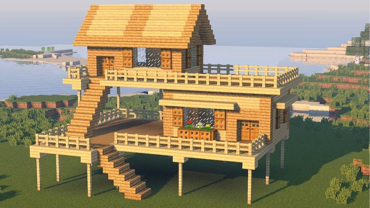 Minimalist House Design: Easy Best Minecraft House Design