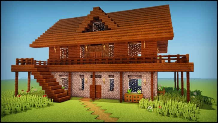 minecraft wood house designs Home Design Download Minecraft Wood House Designs PNG