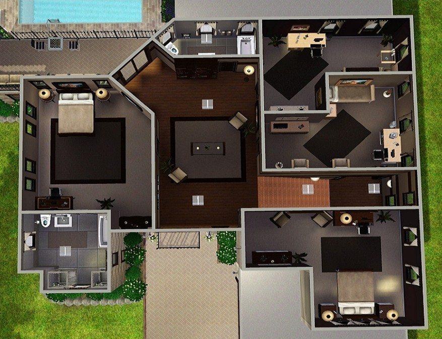 sims 3 design house Home Design Download Sims 3 Design House Gif