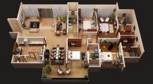 Design For 4 Bedroom House_4_bedroom_house_plans_one_story_four_bedroom_house_design_4_bedroom_ranch_house_plans_ Home Design Design For 4 Bedroom House