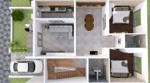 Two Bedroom House Interior Design_2_bedroom_house_plans_interior_design_of_2_bedroom_house__modern_two_bedroom_house_plans_ Home Design Two Bedroom House Interior Design