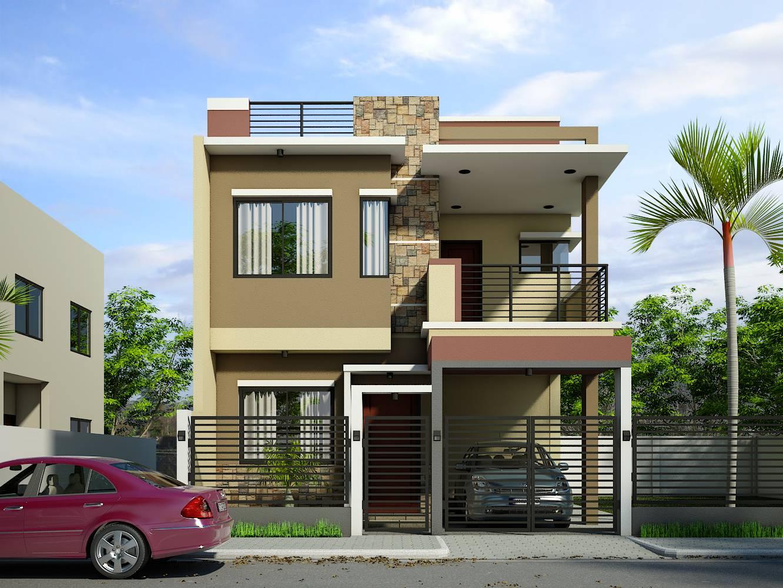 2 storey residential house design Home Design 42+ 2 Storey Residential House Design Background