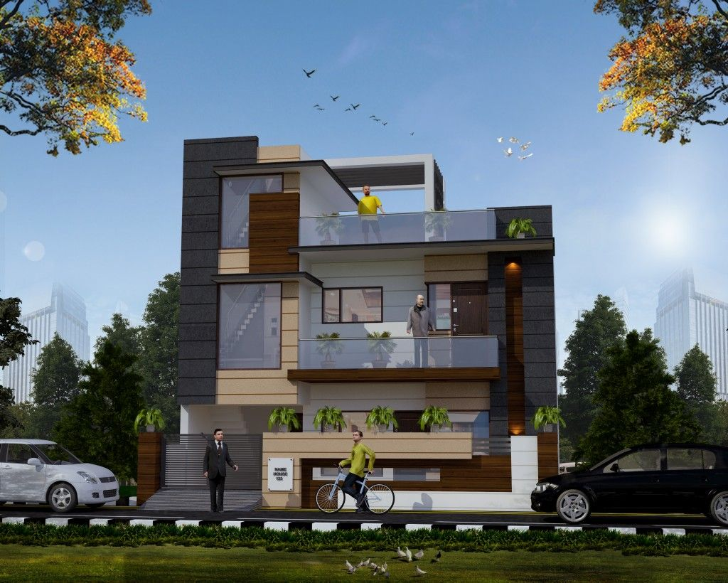 modern design of front elevation of house Home Design View Modern Design Of Front Elevation Of House Images