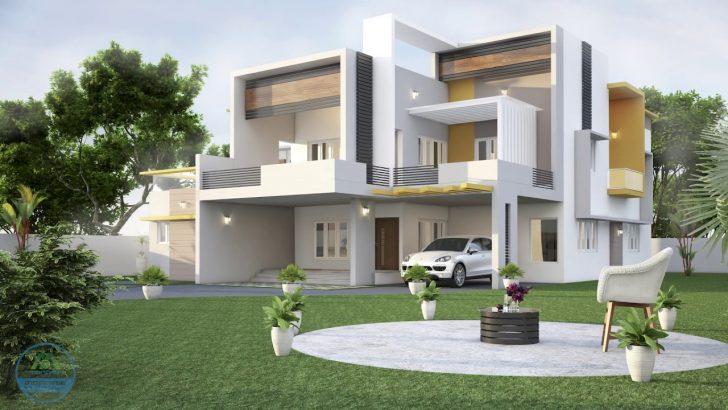 new model kerala house designs Home Design 40+ New Model Kerala House Designs PNG