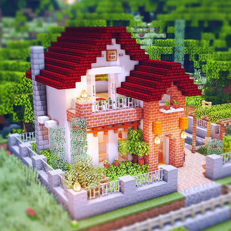 mincraft house designs Home Design 11+ Mincraft House Designs Background