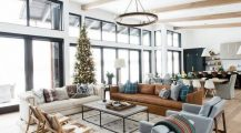 Big Living Room_huge_living_room_big_modern_living_room_stonehill_chocolate_brown_motion_sofa_ Home Design Big Living Room
