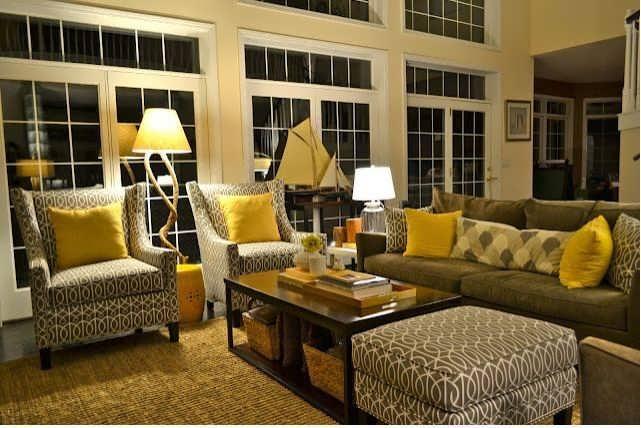 Grey And Brown Living Room_brown_sofa_grey_walls_brown_couch_gray_walls_gray_walls_with_brown_furniture_ Home Design Grey And Brown Living Room