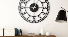 Living Room Clocks_decorative_clock_for_living_room_stylish_wall_clock_for_living_room_black_clocks_for_living_room_ Home Design Living Room Clocks