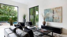 Living Room La Jolla_accent_table_occasional_chairs_modern_living_room_ Home Design Living Room La Jolla