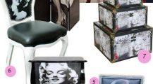 Marilyn Monroe Living Room_wall_unit_armchairs_tv_furniture_ Home Design Marilyn Monroe Living Room