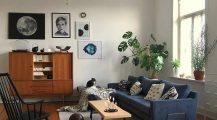 Mid Century Modern Living Room_mid_century_boho_living_room_mid_century_room_vintage_modern_living_room_ Home Design Mid Century Modern Living Room