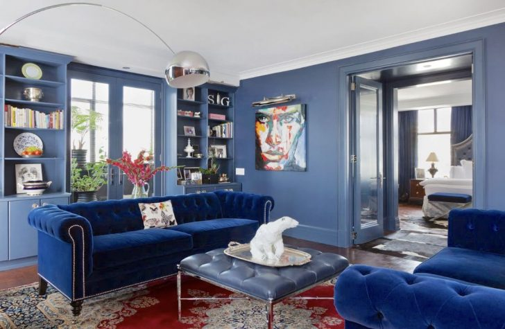 blue living room-blue and yellow living room Home Design Blue Living Room