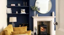 blue living room-grey and blue living room Home Design Blue Living Room