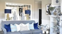 blue living room-light blue accent chair Home Design Blue Living Room