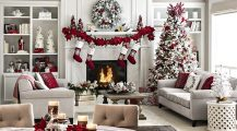 christmas living room-cozy christmas living room Home Design Christmas Living Room