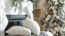 christmas living room-farmhouse christmas living room Home Design Christmas Living Room