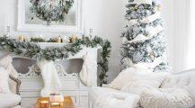 christmas living room-white christmas living room Home Design Christmas Living Room