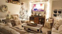 christmas living room-winter wonderland living room Home Design Christmas Living Room