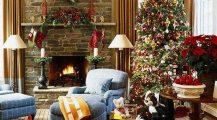 christmas living room-xmas decoration ideas for living room Home Design Christmas Living Room
