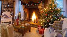 christmas living room-xmas living room Home Design Christmas Living Room