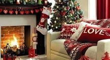 christmas living room-xmas living room ideas Home Design Christmas Living Room